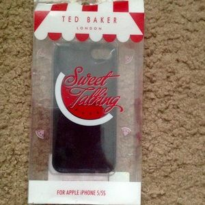 Ted Baker London iPhone 5/5s rubber phone case